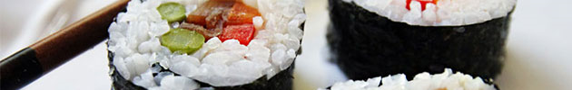 Futomaki rolls (envueltos en nori y frito en tempura)