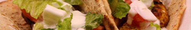 Shawarmas al plato