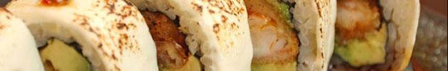 Rolls envueltos en queso crema