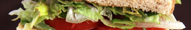 Bandeja de sándwiches