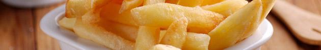 Fritas con salsas
