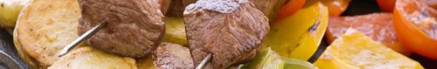 Parrilla de carne y cerdo