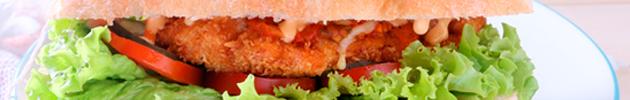 Baguettes de carne o pollo