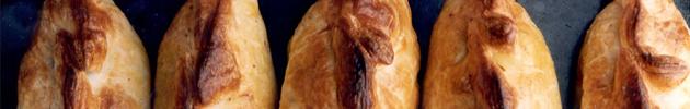 Empanadas (identificada por su número en el extremo izquierdo de la misma)