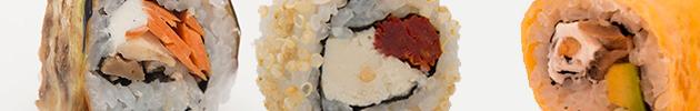 Veggie rolls (9 piezas)