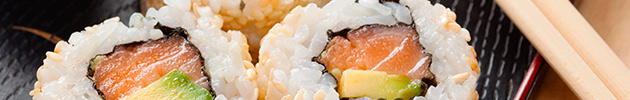 Rolls tradicionales (uramaki)