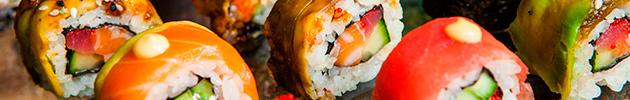 Combinados de sushi nikkei