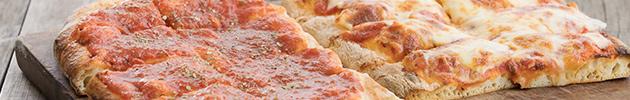 Pizza a la pala por metro