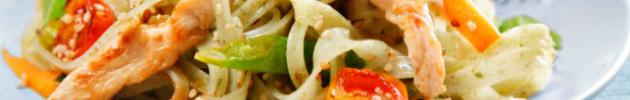 Platos de comida China / Woks