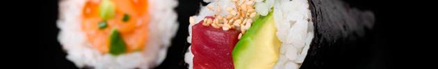 Temakis (conos con alga nori y arroz, relleno variado) - Unidad