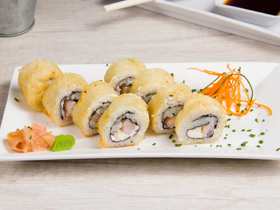 Roll California ebi cheese (8 bocados)