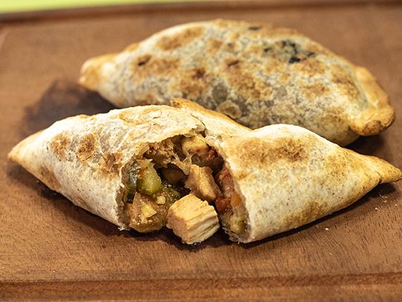 Empanada natural de pollo oriental (solo al horno)