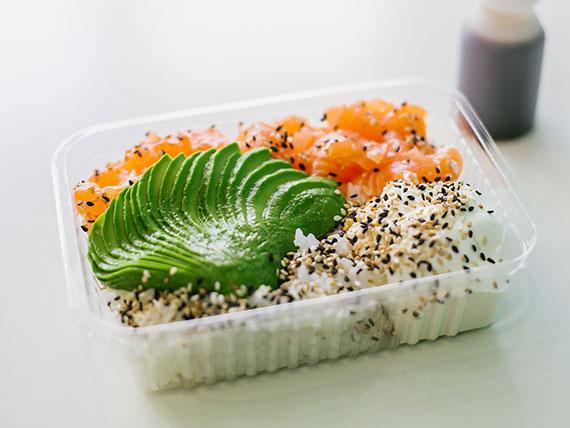 Ensalada salmón mix