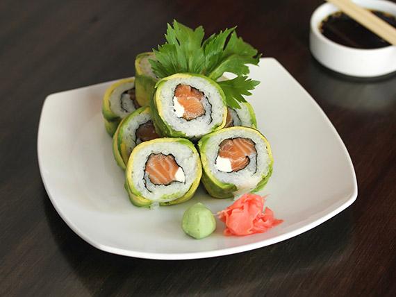 8. Avocado sake roll (8 piezas)