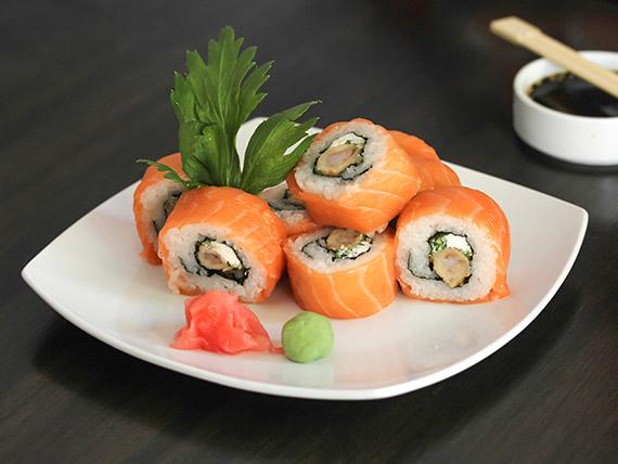 21. Ebi tempura roll (8 piezas)