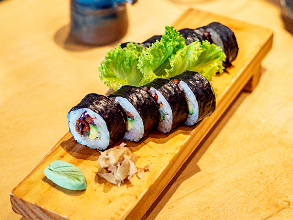 Maki vegetariano (10 unidades)