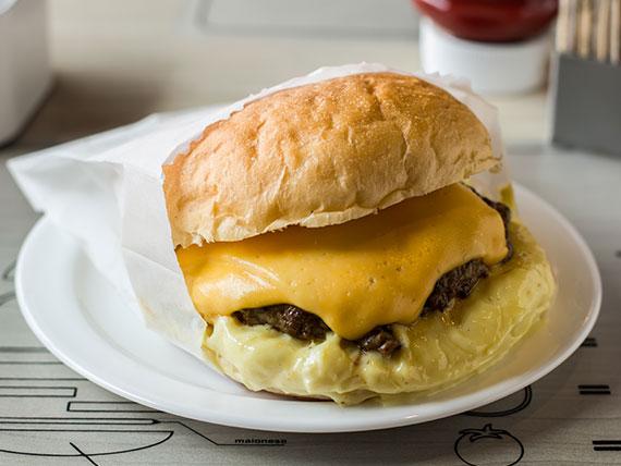 Hambúrguer maionese