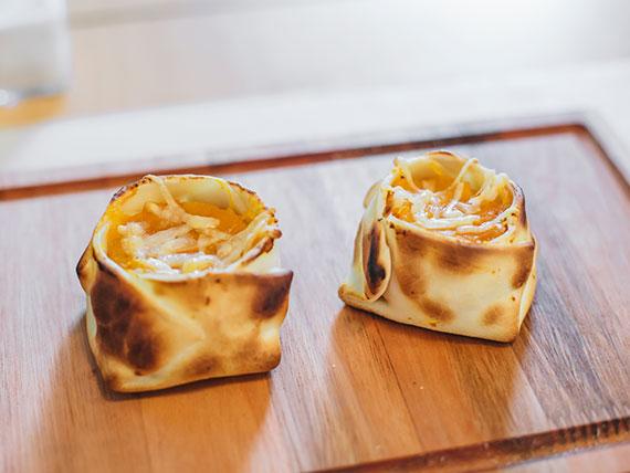 07. Empanada de calabaza con parmesano