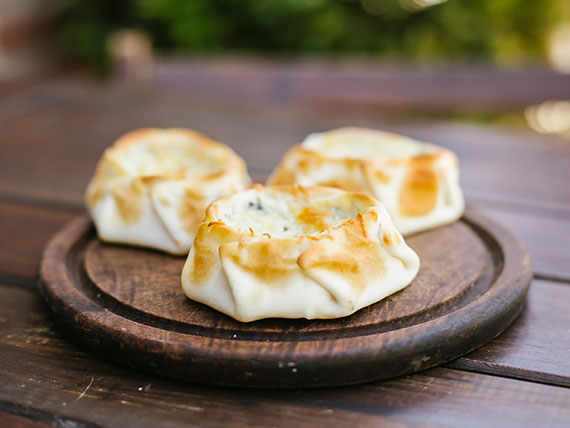 Canastita 4 quesos