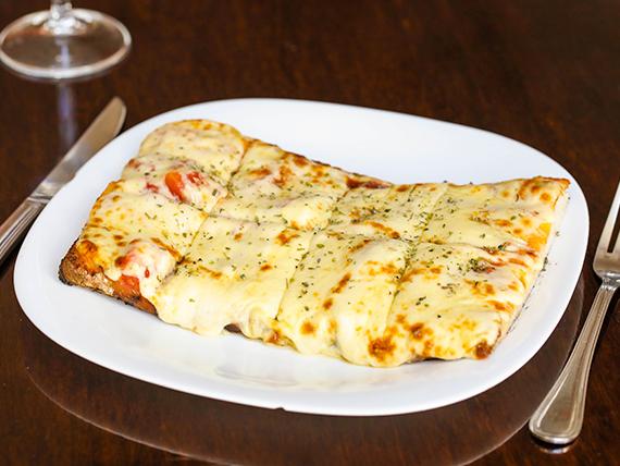 Pizza muzzarella tradicional
