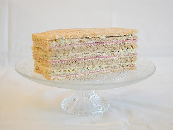 09 - Sándwiches de jamón cocido, queso azul y manteca