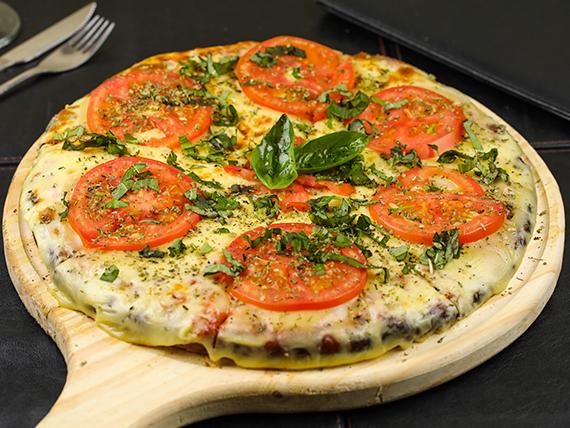 Pizza napolitana (2 personas)