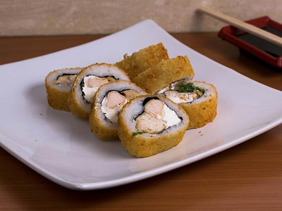 Pollo tempura (9 bocados)