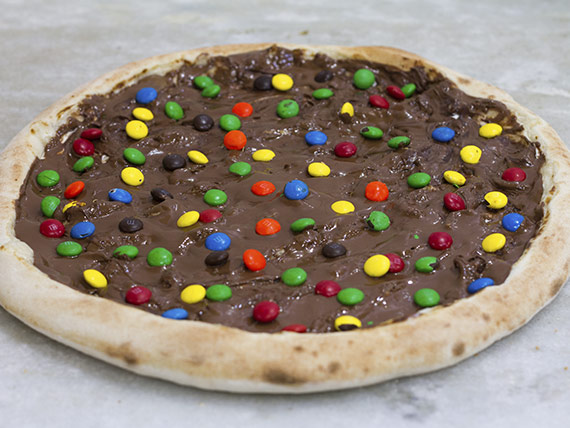 Pizza M&Ms