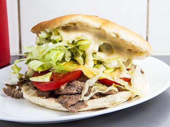 Sándwich de churrasco Irlandés