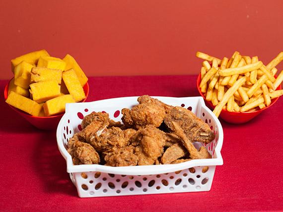 Combo chicken premium