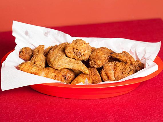 10 Pedaços de frango