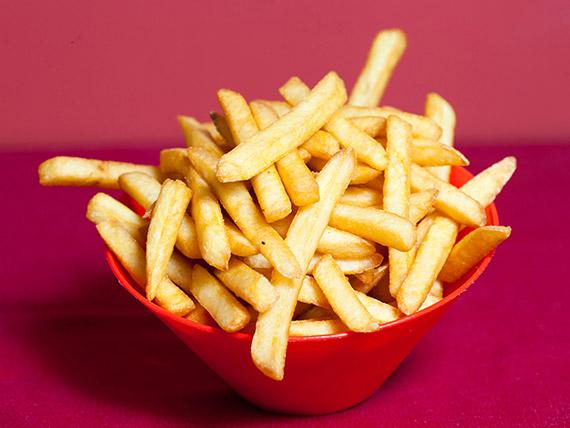 Porção batata fritas
