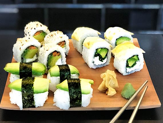Combinado  - Vegetariano (12 unidades)