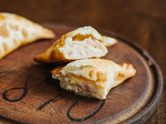 Empanada de jamón del norte
