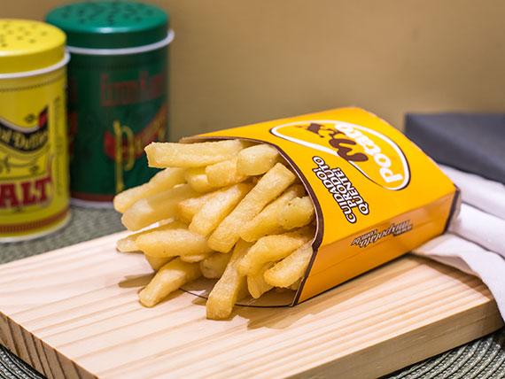 Porção de fritas grande