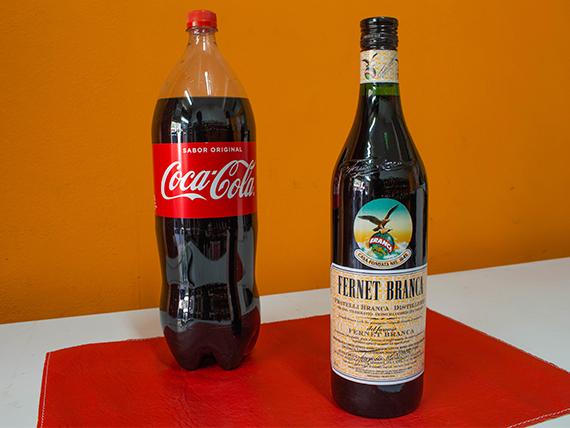 Combo - Fernet Branca 750 ml + Coca Cola 2.25 L