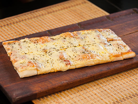 Pizza con muzzarella (2 x1)