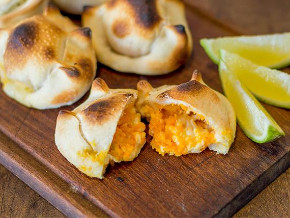 Empanadas de calabaza y roquefort