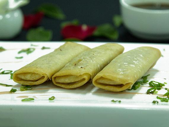 Empanaditas chinas de carne (3 unidades)