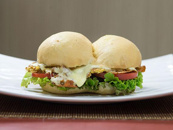 Bauru falafel vegetariano
