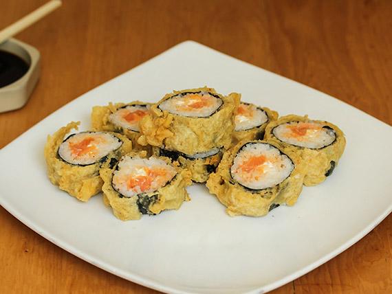 07- Spicy tempura roll (8 piezas)