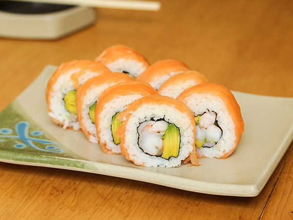 08 - Sake roll (8 piezas)