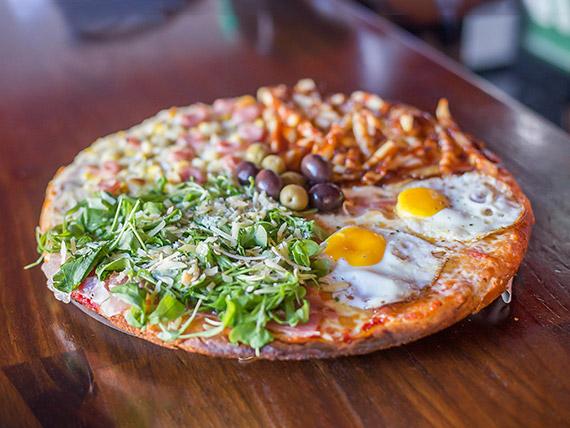 Pizza XL 4 sabores