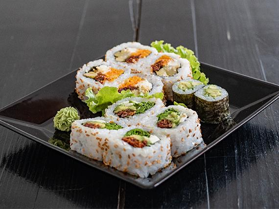 Combinado vegetariano - Individual (10 piezas)