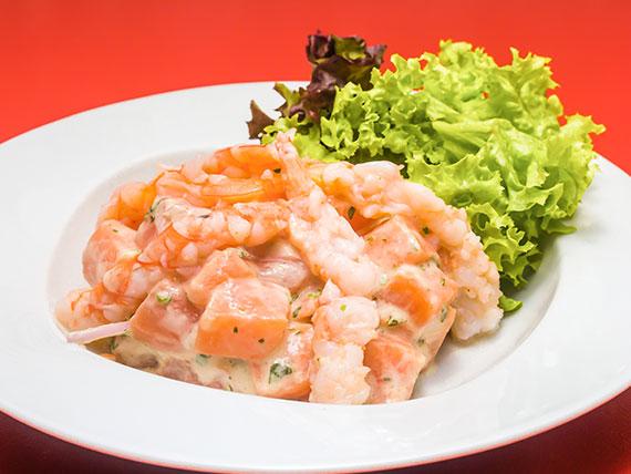 85 - Ceviche sake ebi