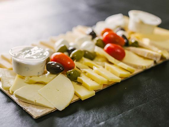 Picada de quesos