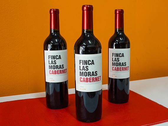 Vino tinto Finca Las Moras malbec 750 ml