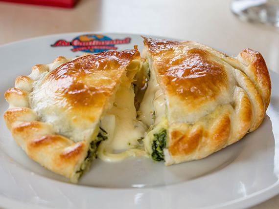 Empanada de verdura y queso