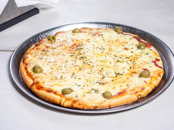 2 - Pizza de mozzarella
