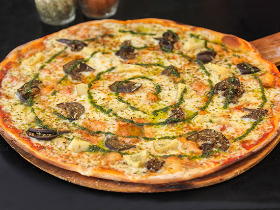 9 - Pizza vegetariana